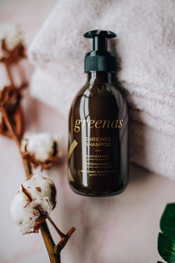 Praturtintas šampūnas