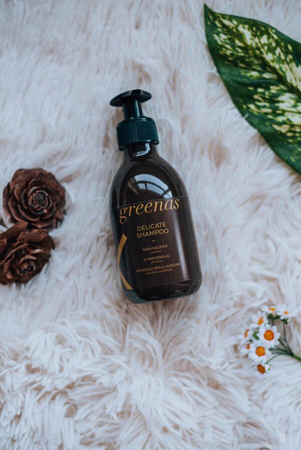 Švelnus šampūnas